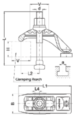 *** CLAMPING FRAME SPECS ***