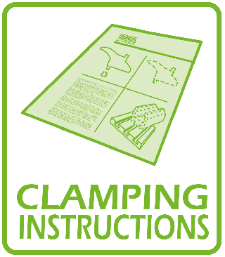 *** CLAMPING INSTRUCTIONS ***